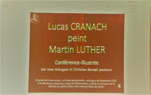 Carton de présentation de la conférence